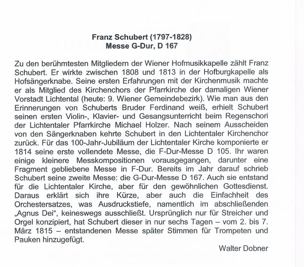 180215 Text Franz Schubert Messe G Dur